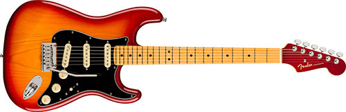 Fender American ultra Luxe Series electric Guitars
