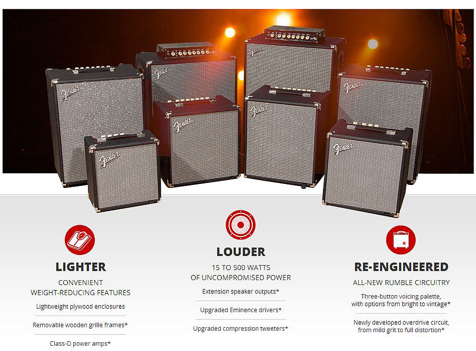 Rumble Bass Amps