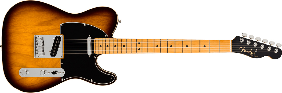 American Ultra Luxe Telecaster 2-Color Sunburst