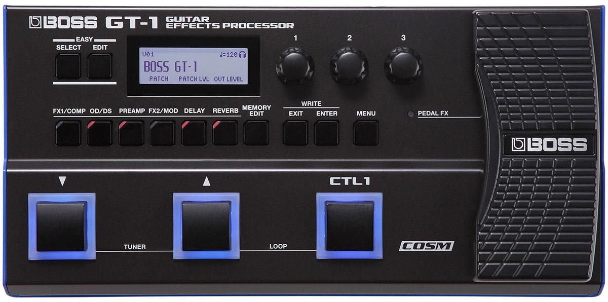 Multi-FX-pedals - Boss-GT-1