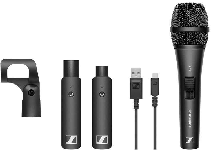 Sennheiser XSW-D VOCAL SET, Digital wirelss microphone System