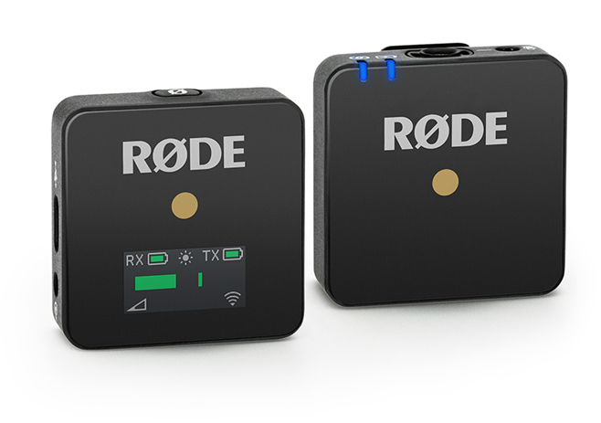 RØDE Wireless GO, Compact Wireless Microphone System