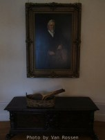 A portrait of Pittock hangs in the upstairs hall. I dought this was here when Pittock was alive.