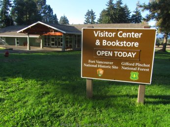 The visitor center is staffed with ranger who can answer questions.