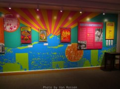 Someone recently donated there collect of 60's concerts memorabilia to the museum and they made an exhibit out of it.