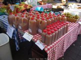 It is Fall and when the fresh press cider shows up at the farmers markets.