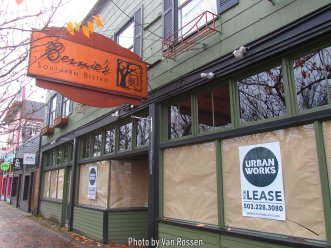 Overall Alberta St. had more vacant store fronts then I have seen else where in Portland.