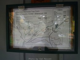 Map of the trail system.