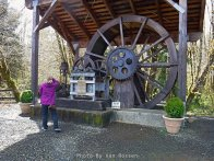 Water Wheel were the earliest source of power for lumber mills