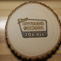 Save Outdoor School Ballot Initiative - Donor Gift Plaque - Single - 2016