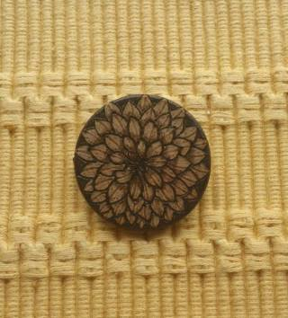 Flower Pin - Front - 2017