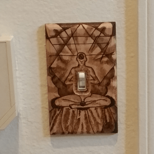 Inner Light Switch Plate - 2017