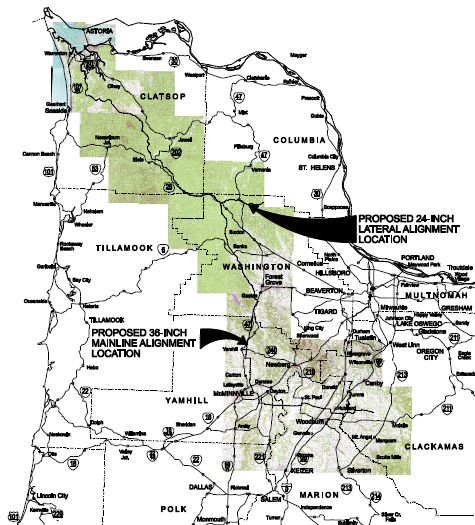 Astoria LNG Pipeline
