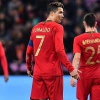 O 11 inicial de de Portugal contra a Argélia