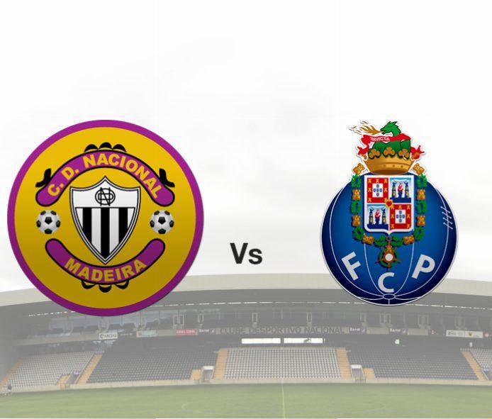 Link para ver o Nacional – FC Porto em directo Livestream