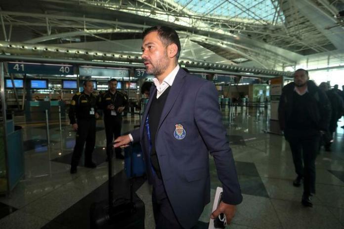 Sérgio Conceição de saída do FC Porto