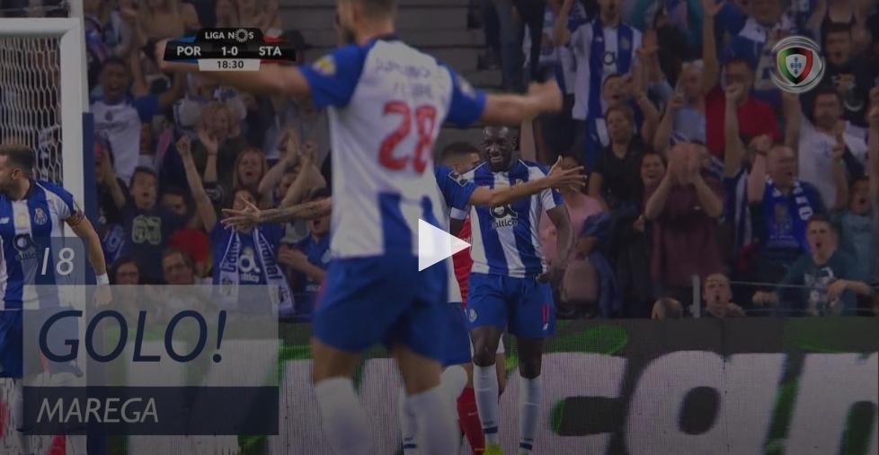 Marega põem o FC Porto em vantagem desta forma