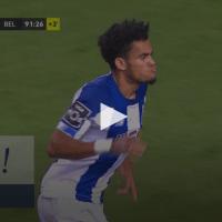 Luiz Diaz faz um jogada indivídual de absosultamente genial