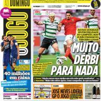 Capas jornais desportivos 16-05-2021