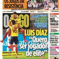 Capas Jornais desportivos 24-07-2021