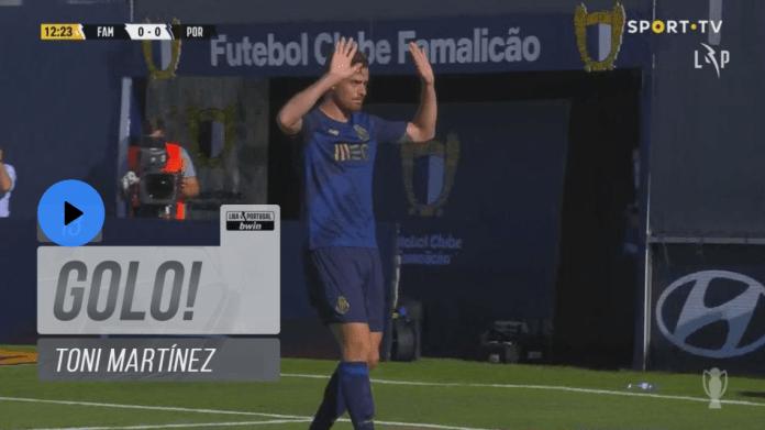 Taremi assiste, Toni Martínez marca. Eis o primeiro golo do FC Porto