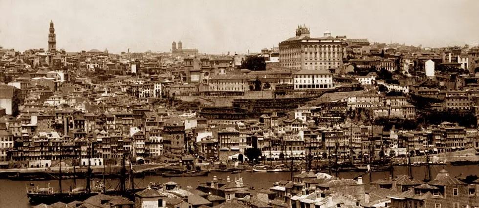 L'histoire de la ville de Porto