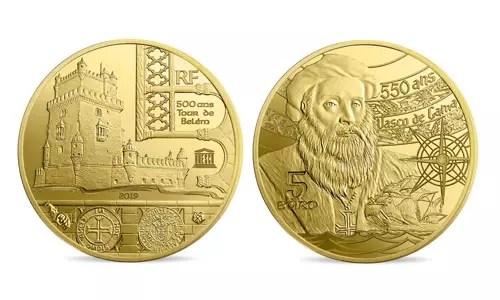 Une pièce de monnaie en hommage au Portugal