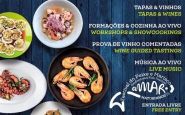 festival du poisson et fruit de mer a Matosinhos
