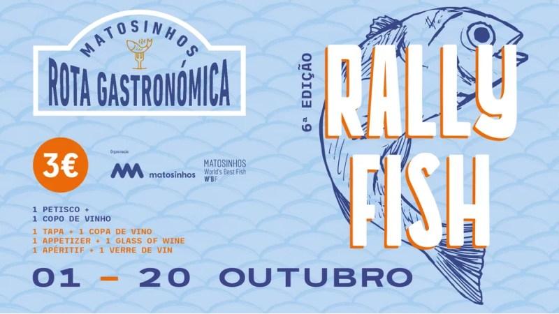 Rally Fish, poisson et vin pour 3 € à Matosinhos