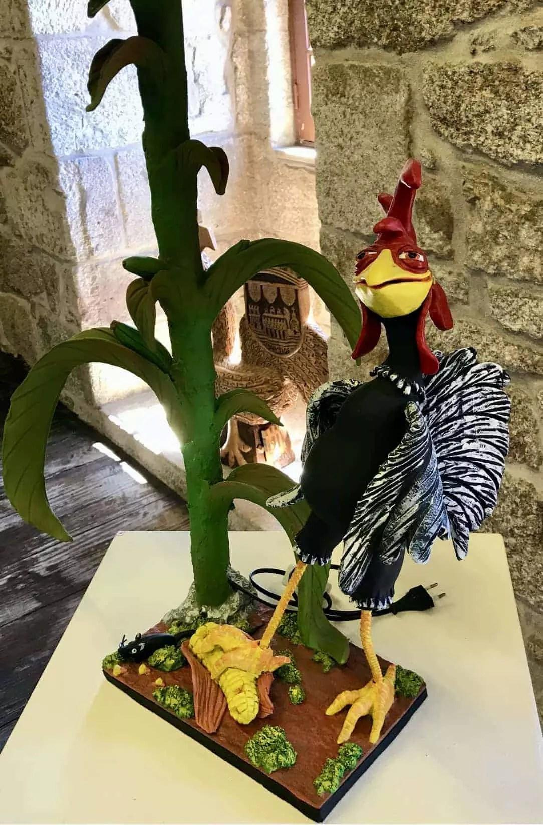 La légende du coq de Barcelos