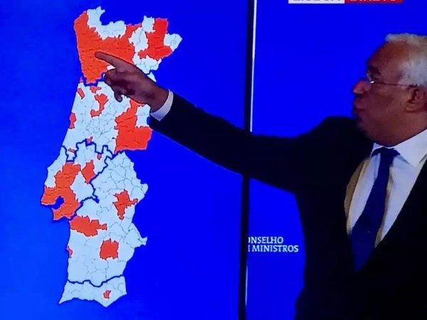 121 concelhos placés en confinement partiel
