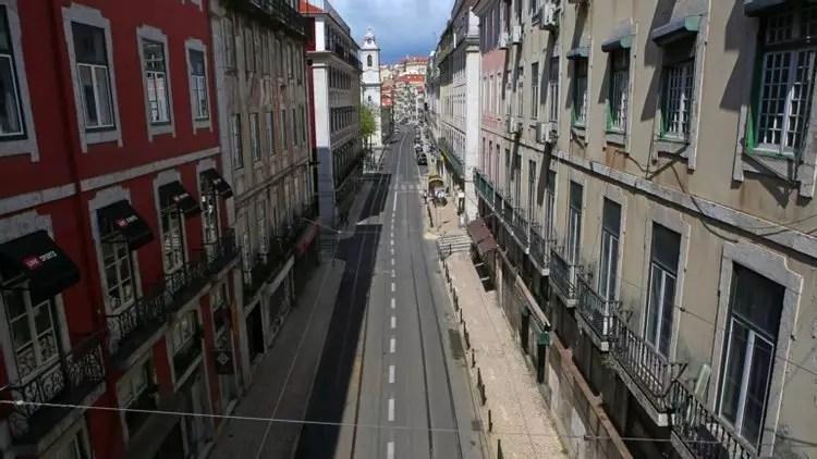 Le Portugal en confinement de nouveau