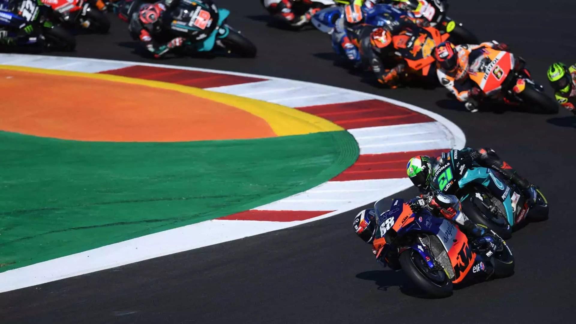 MotoGP a Portimao 2021