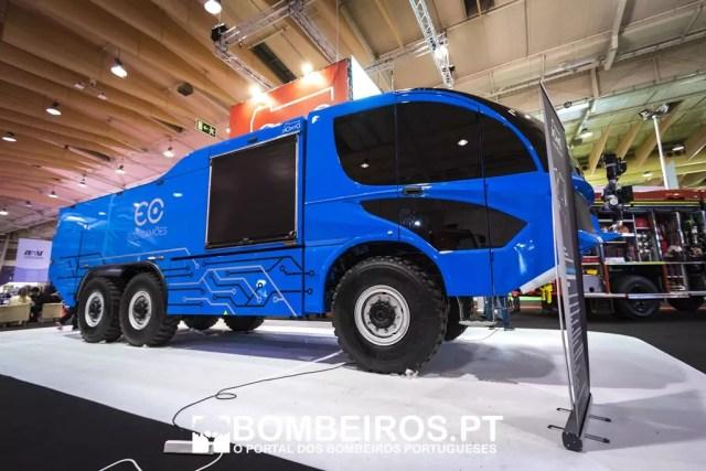 véhicule de pompier autonome-
