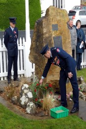 Laying of a wreath