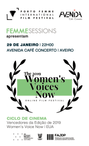 Session #10 - January 29th | Extensão do WOMEN'S VOICE NOW Film Festival | EUA