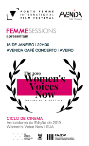 Session #9 - January 15th  | Extensão do WOMEN'S VOICE NOW Film Festival | EUA