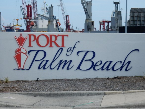 THE PORT OF PALM BEACH IS ON THE MOVE!