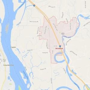 Woodland Map