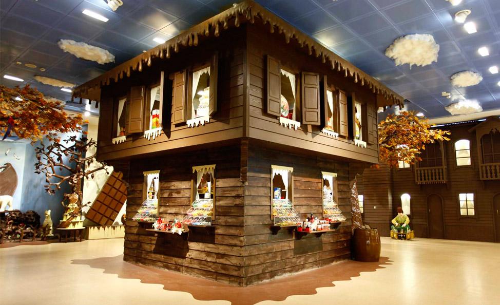 متحف الشوكولاتة (Pelit Çikolata Müzesi) في اسنيورت