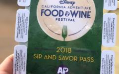 Disney's Food and Wine Festival features a wide variety of delicious dishes among the stands.