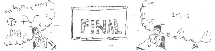 Should Finals be Cumulative of the Full Year?