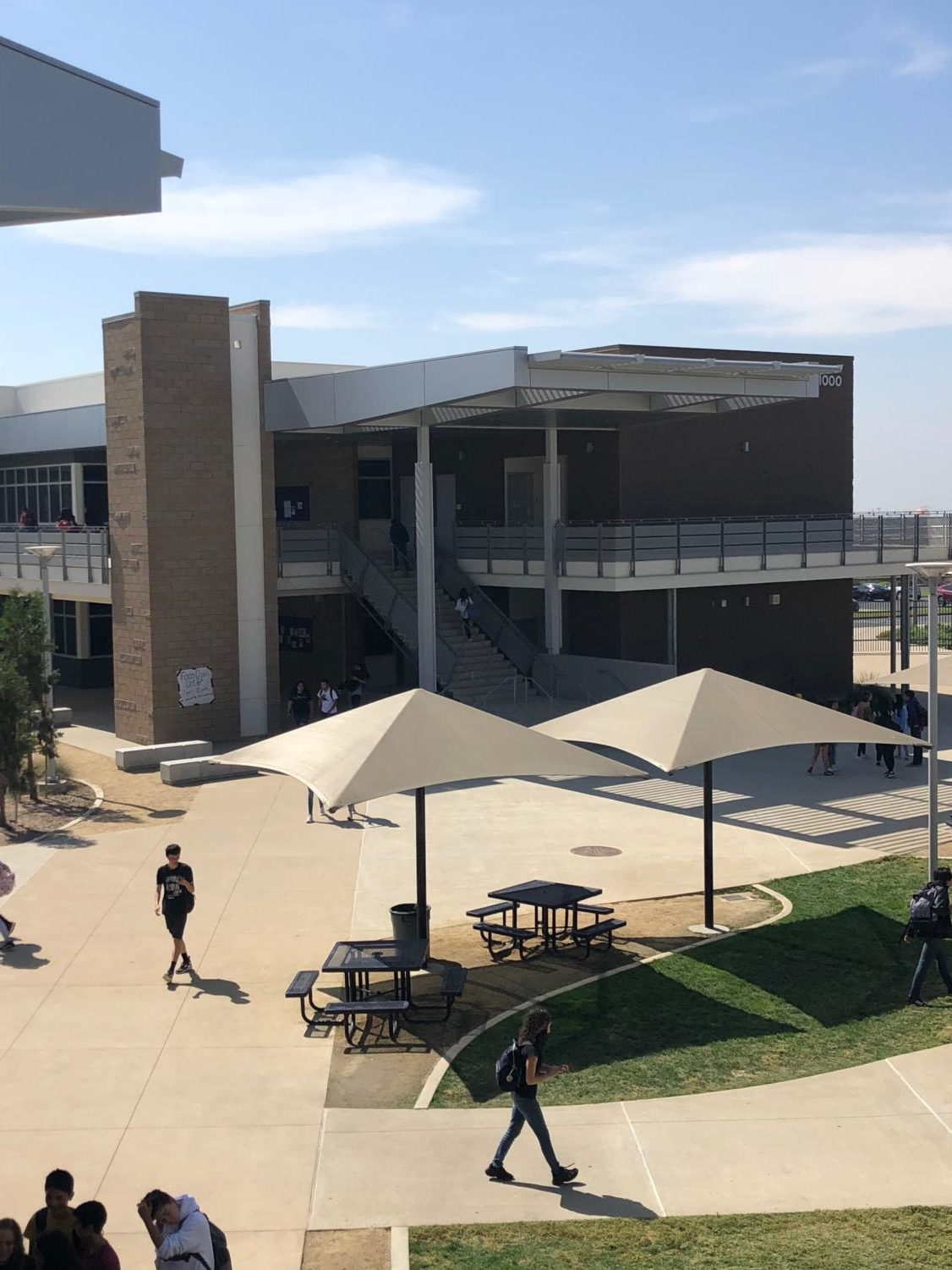 The new buildings that opened this year added an extra area for students to learn, while also creating more space around campus.