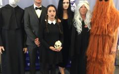 The macabre yet hilarious Addams Family was brought to life by the VAPA department.