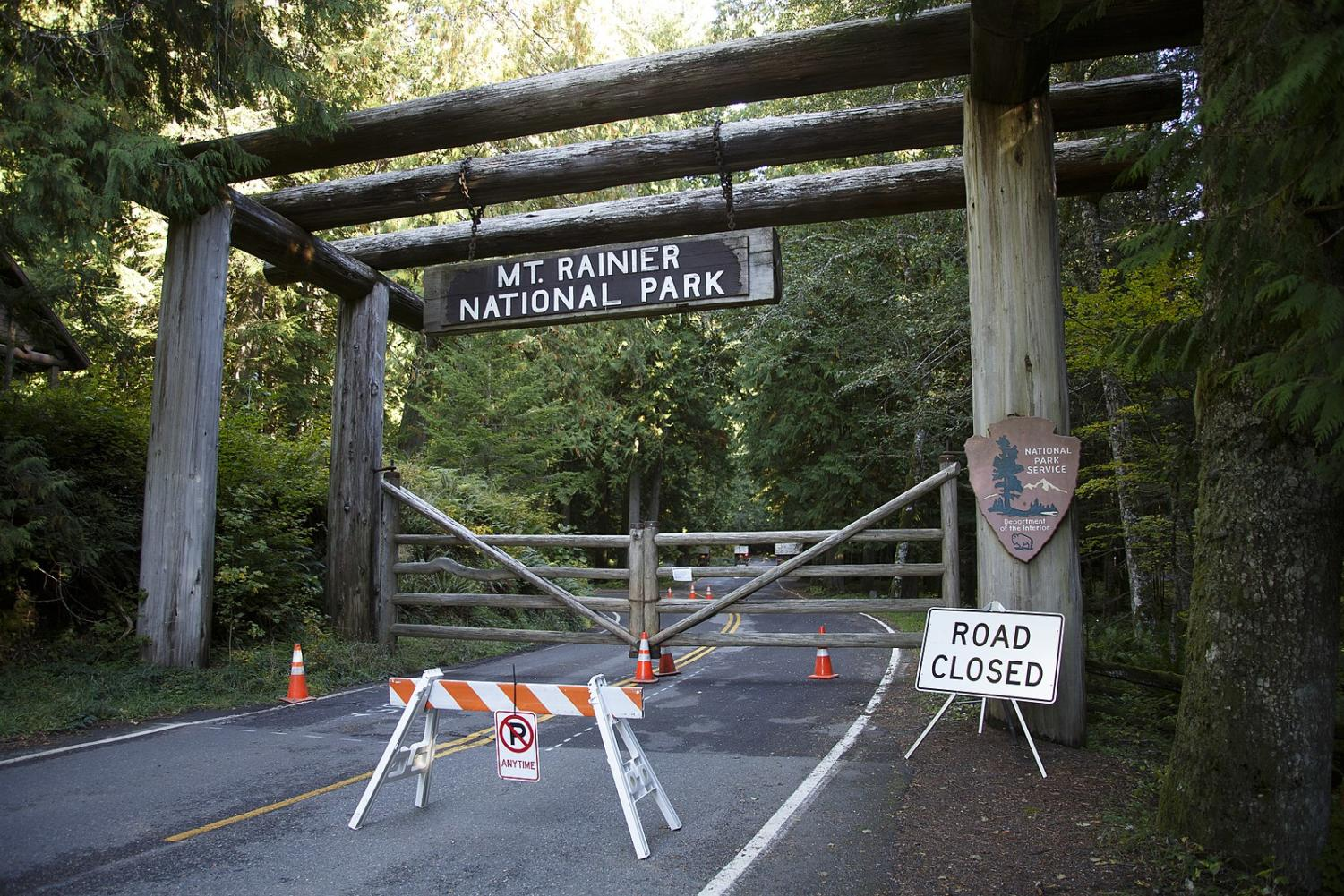 Mt. Rainier National Park in Washington was one of the numerous national parks across the country that were neglected due to lack of funding during the government shutdown.