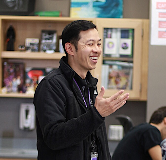 Tang first opened up about his interest in filmmaking to students as a 2019 Passion Day presenter, explaining his process for learning to balance his multiple hobbies and choosing which passion to pursue in the future.