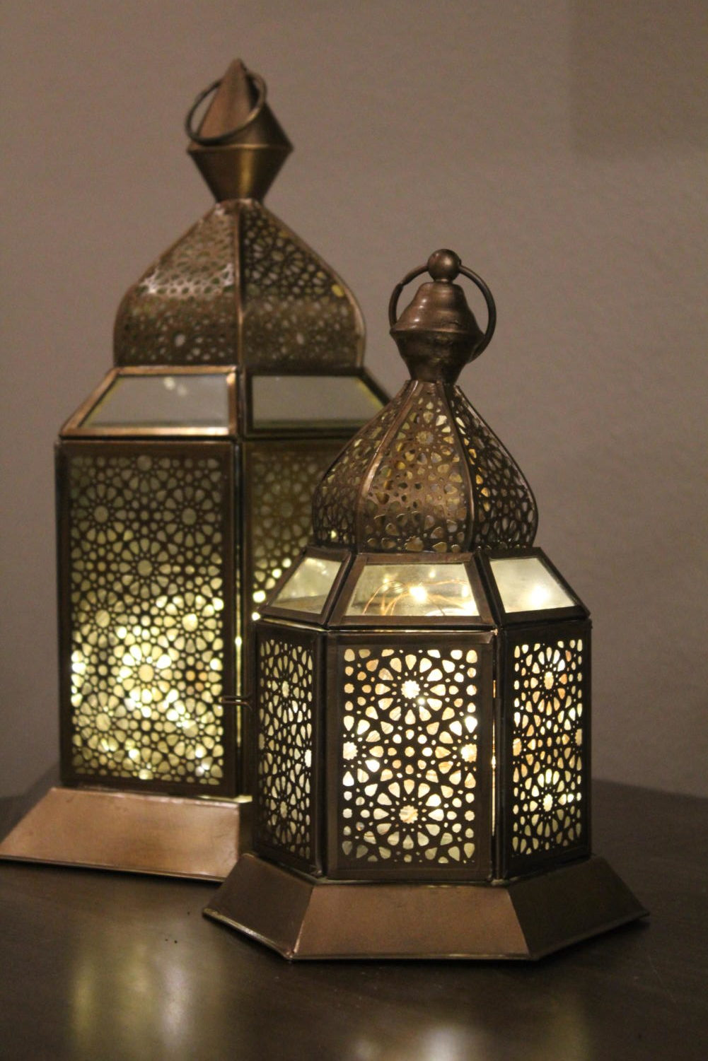 "It is a tradition for many families to decorate their homes for Ramadan. Decorations include lanterns, lights, signs stating ""Happy Ramadan,"" and much more."