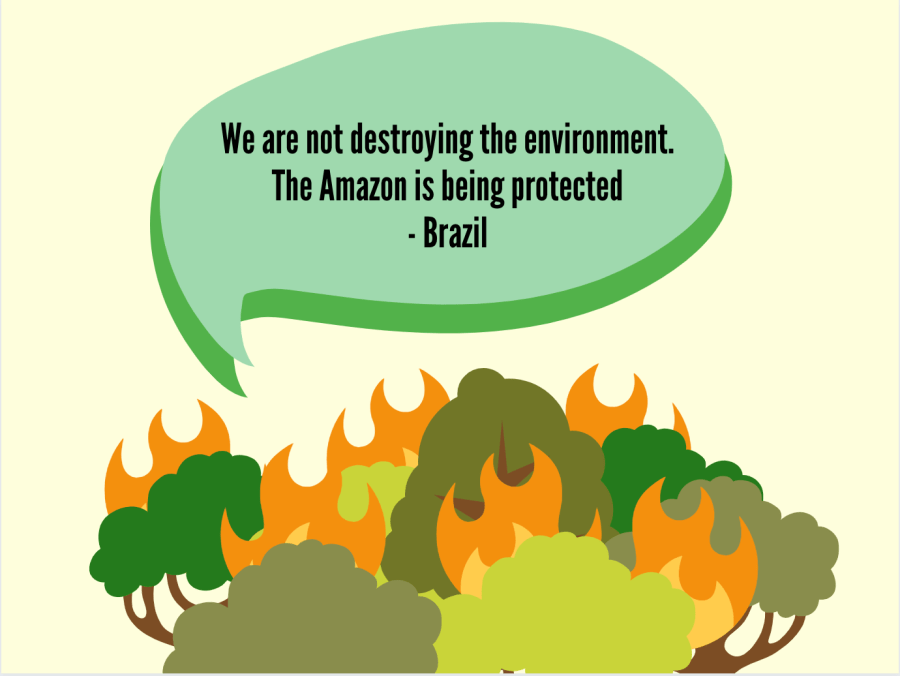 Although+the+causes+of+the+Amazon+rainforest+fire+can+be+attributed+to+a+combination+of+factors%2C+the+election+of+Jair+Bolsonaro+represents+a+turning+point+for+Brazil%E2%80%99s+stance+on+the+environment.+In+fact%2C+the+government+continuously+downplayed+the+crisis+and+even+went+so+far+as+to+deny+its+existence+in+a+Sept.+11+speech+at+the+Heritage+Foundation.