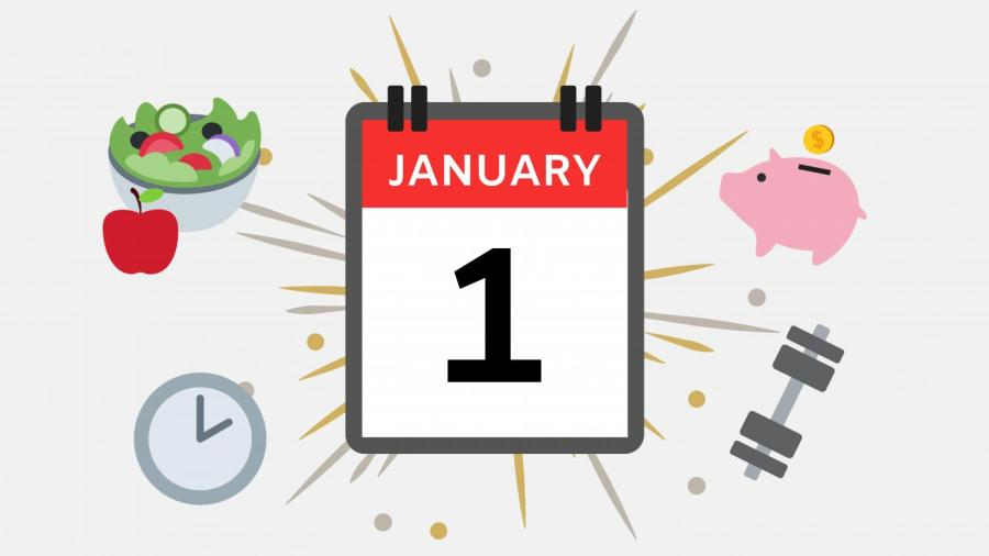 Setting New Year's Resolutions is a common tradition seen all over the world, and encourages people to improve their lifestyles or achieve certain goals in the upcoming year.