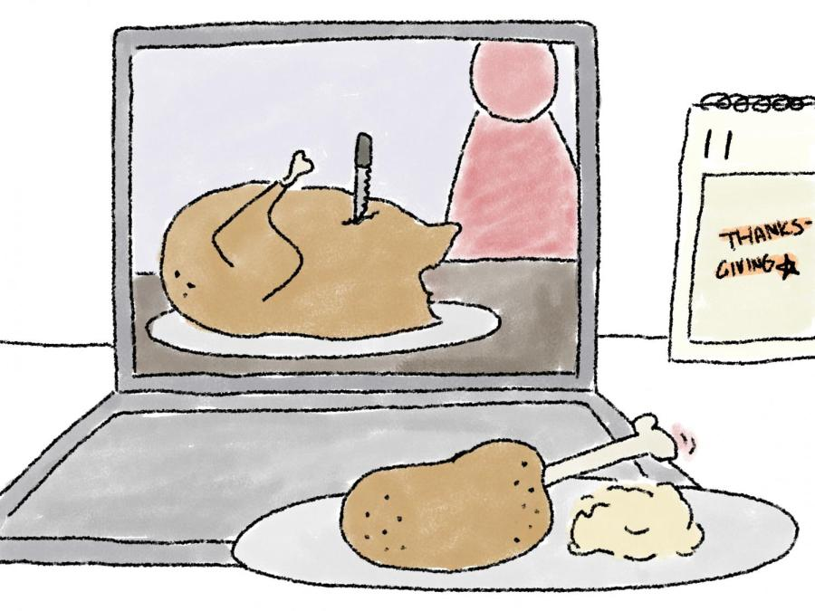 Many students have yearly Thanksgiving plans and traditions that won't be able to occur because of COVID-19. The introduction of video conferencing programs like Zoom create a new way to be around family without in person gathering aspect.
